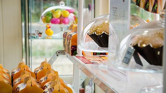 vitrine pâtisserie